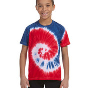Youth 5.4 oz., 100% Cotton Tie-Dyed T-Shirt
